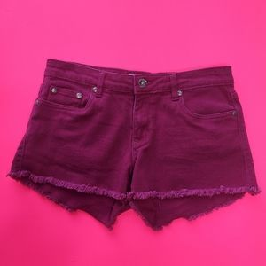 3/$30 | Blue crush pink denim shorts